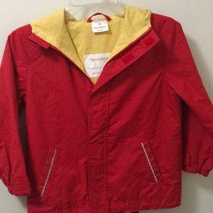 Hanna Andersson Rain Jacket Boys size 120/6-7